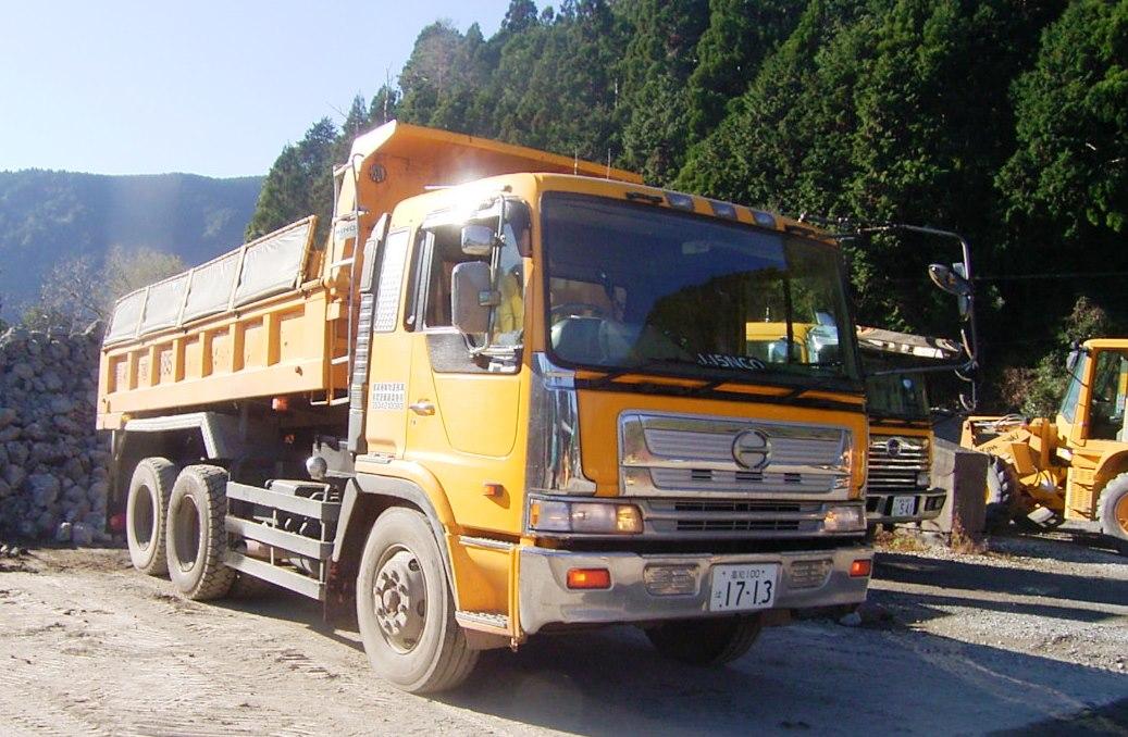 【大型運転手】大型トラックの運転◆要経験◆近隣の馬路村・北川村での工事を行っています◆UIターン移住歓迎◆地域に無くてはならない会社です!