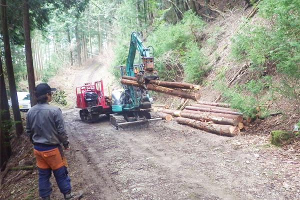 【林業作業員】未経験応募可!◆森林率89%の仁淀川町で林業に挑戦◆伐倒・造材・搬出等を行っていただきます。